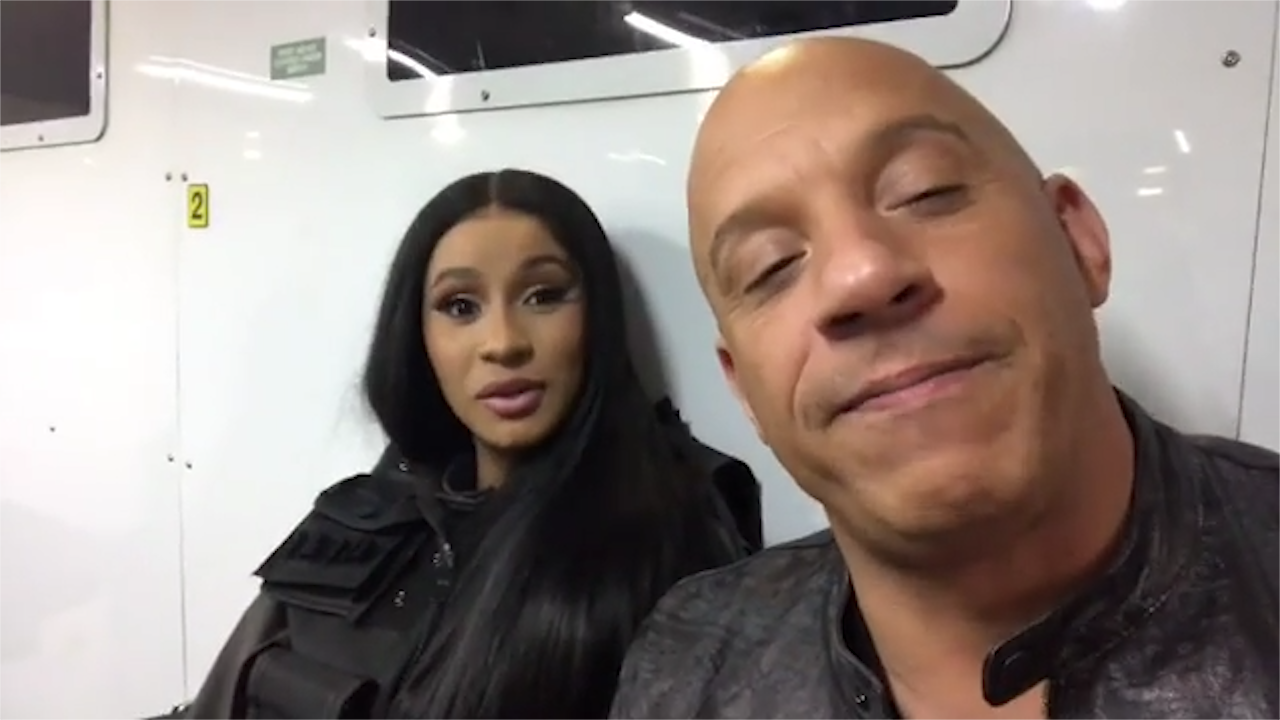 Cardi B confirms role in Fast and Furious 9