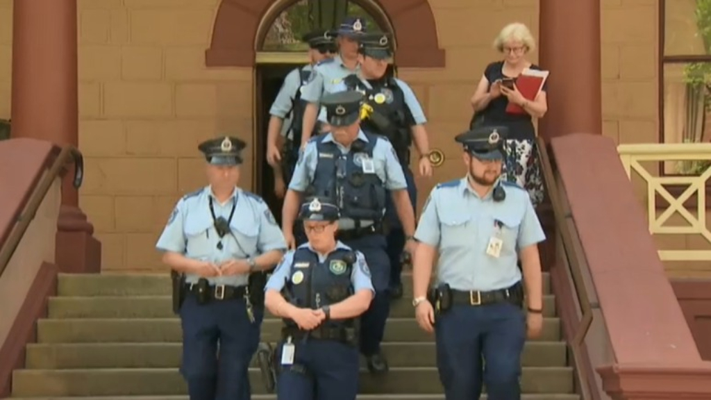 NSW Parliament security forces walk off job