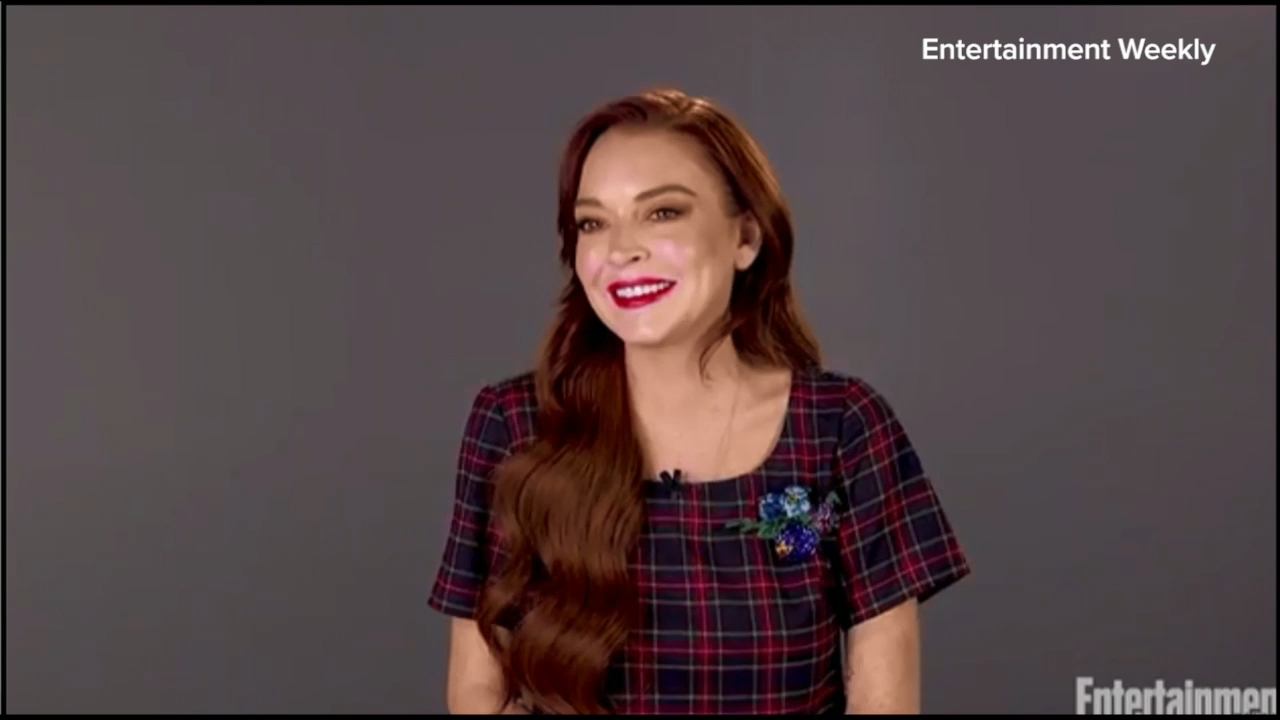 Lindsay Lohan opens up about viral dance video