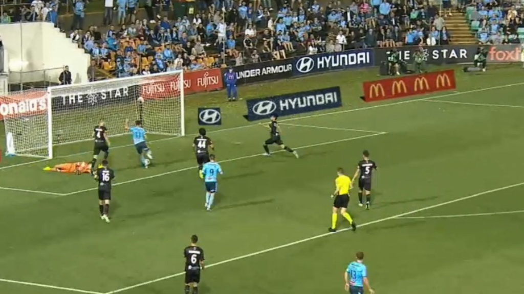 Barbarouses scores first Sydney FC