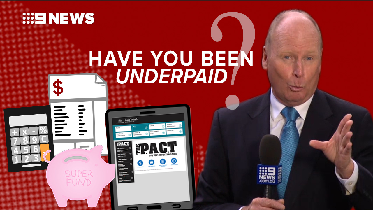 What to do if you think you've been underpaid?
