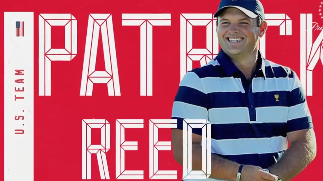 Woods names Patrick Reed for Presidents Cup