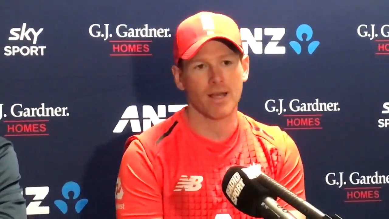 Eoin Morgan's humble support to New Zealand