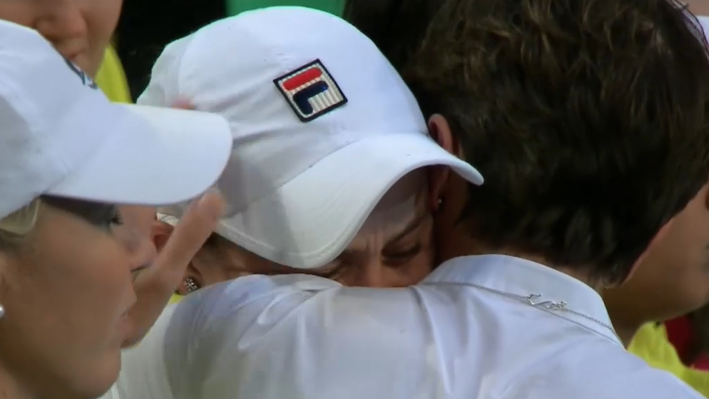Barty in tears after Fed Cup final loss