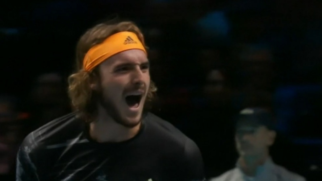 Tsitsipas beats Medvedev at ATP Finals