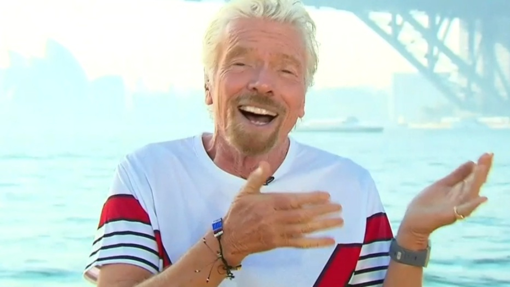 Sir Richard Branson talks Virgin Voyages ahead of maiden journey