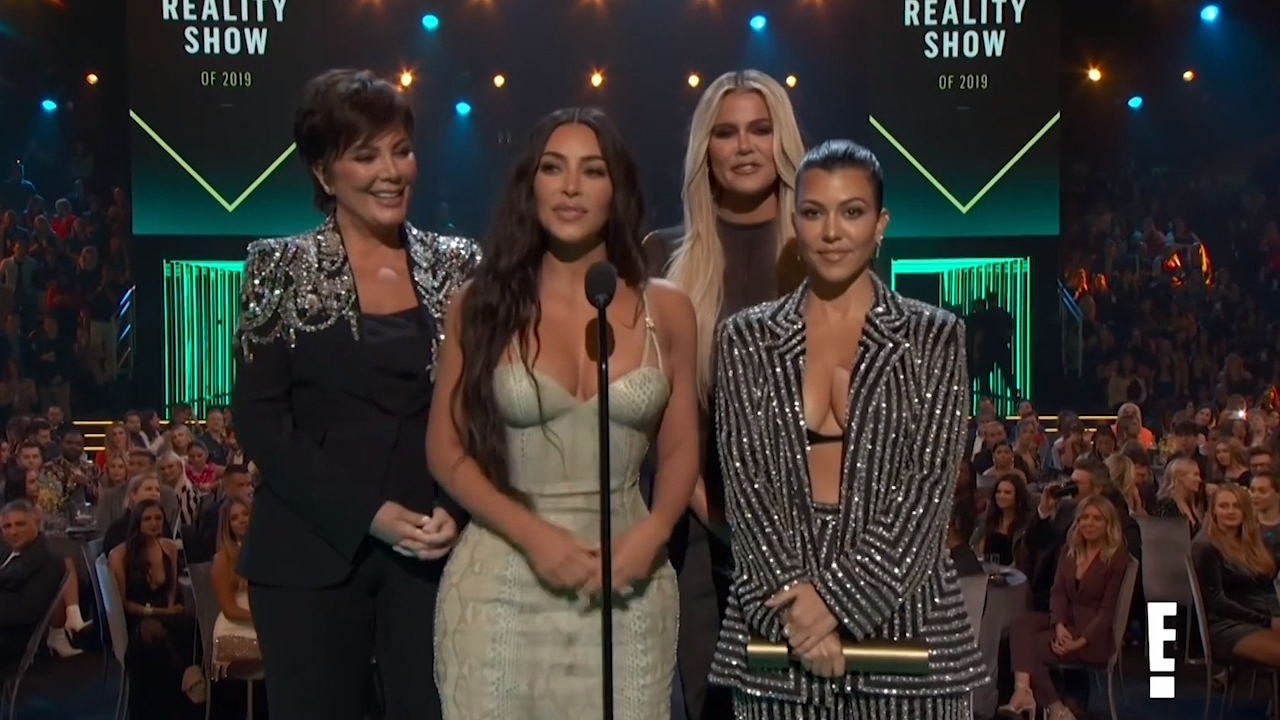 Kardashians win Best Reality Show at 2019 People's Choice Awards