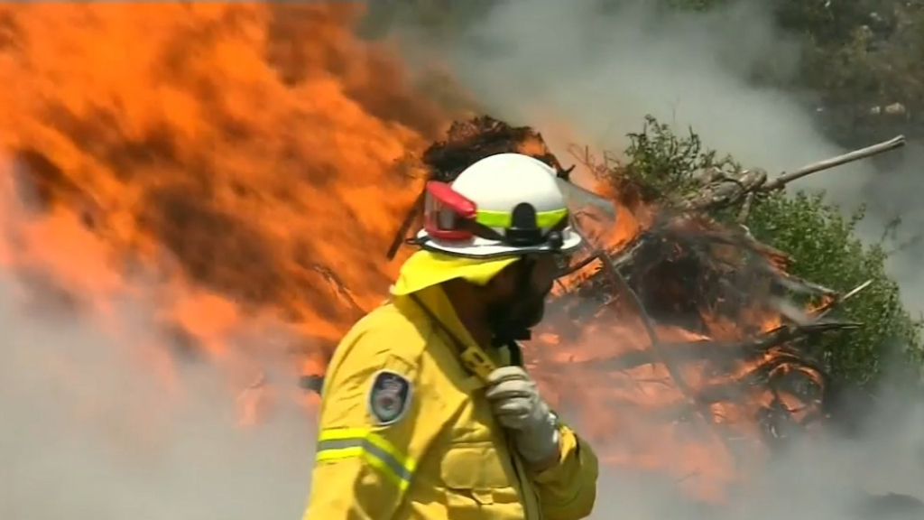 More than 60 bushfires burning across Queensland