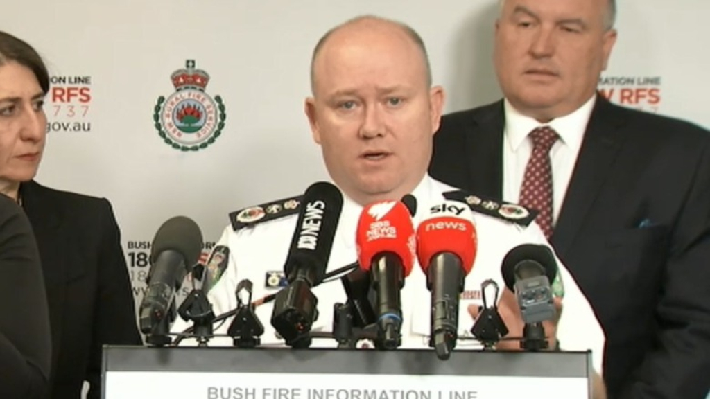 RFS Commissioner: 'Yesterday was an extraordinary day'