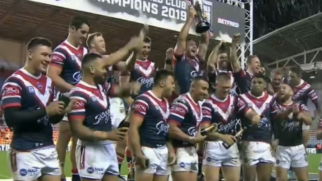 Roosters World Club Challenge game confirmed