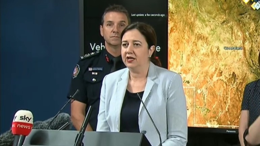 Queensland premier provides fire emergency update