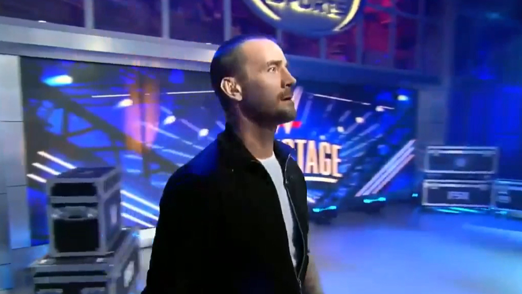 CM Punk appears on WWE backstage