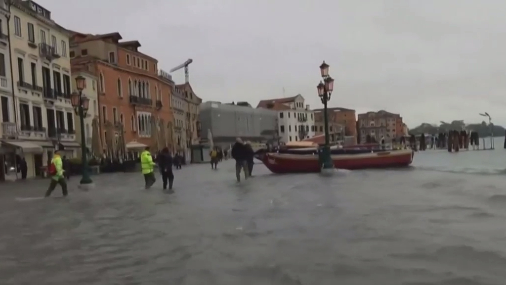 Venice experiencing worst flooding for 50 years