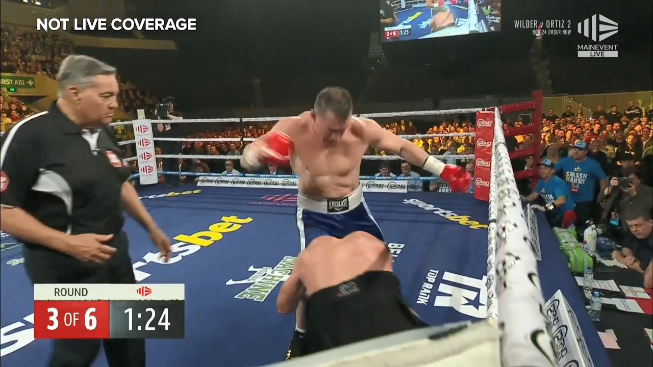 Gallen unloads on Hall