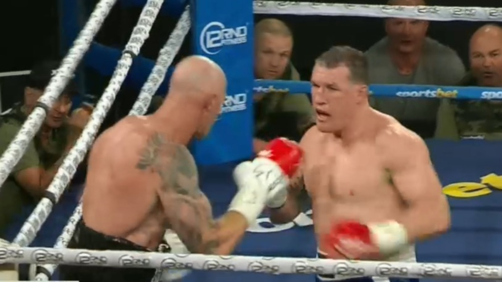 Gallen and Hall fight ends in a draw