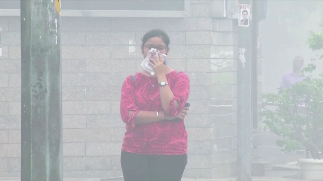 India's toxic air quality