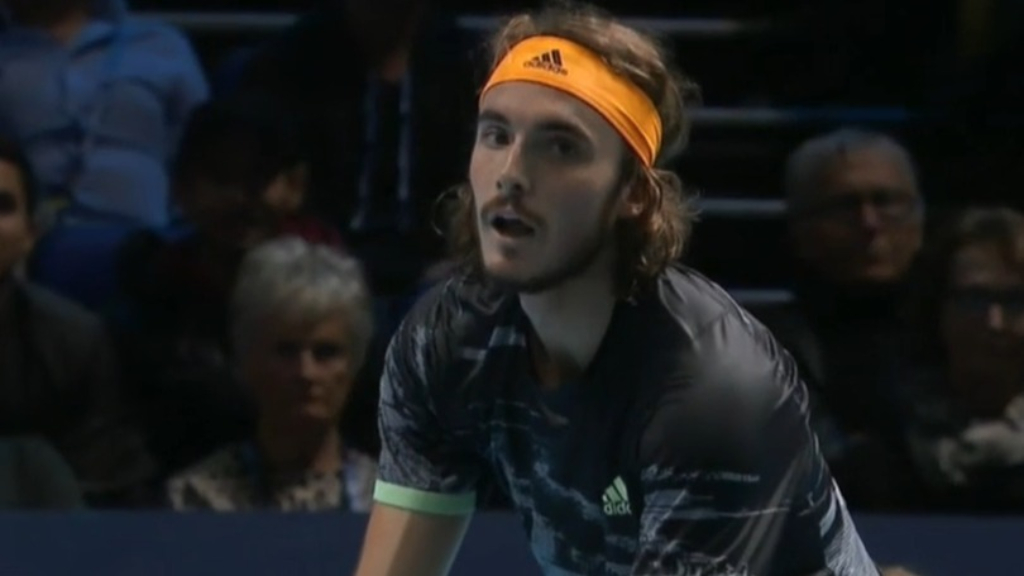 Tsitsipas beats Federer at ATP Finals
