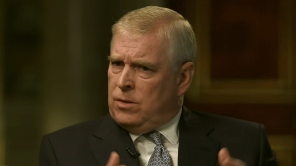 Prince Andrew tells all in BBC interview