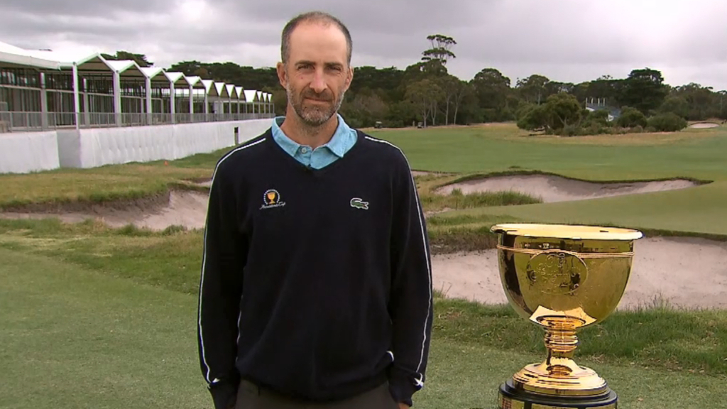 Presidents Cup golf video | Geoff Ogilvy on Tiger Woods