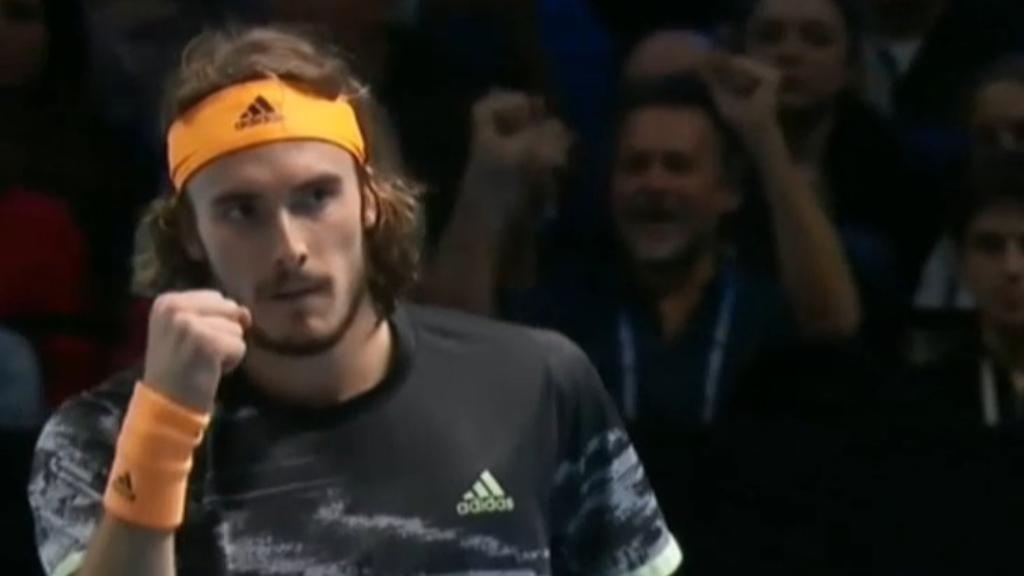 ATP Finals 2019 video | Stefanos Tsitsipas beats Dominic Thiem in decider