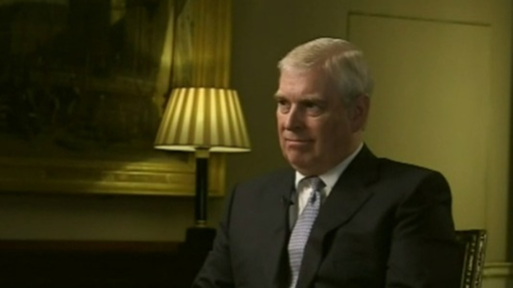 Prince Andrew gives bizarre interview