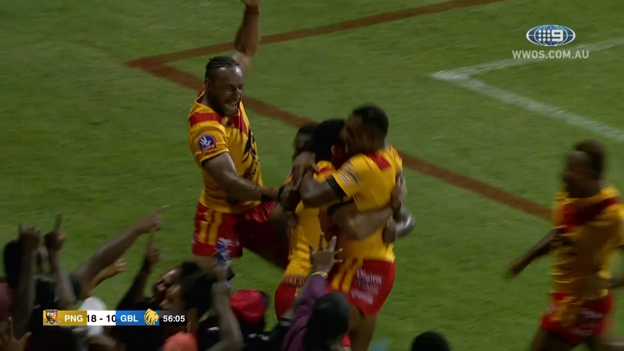 NRL Highlights: Papua New Guinea v Great Britain - Test Match Footy