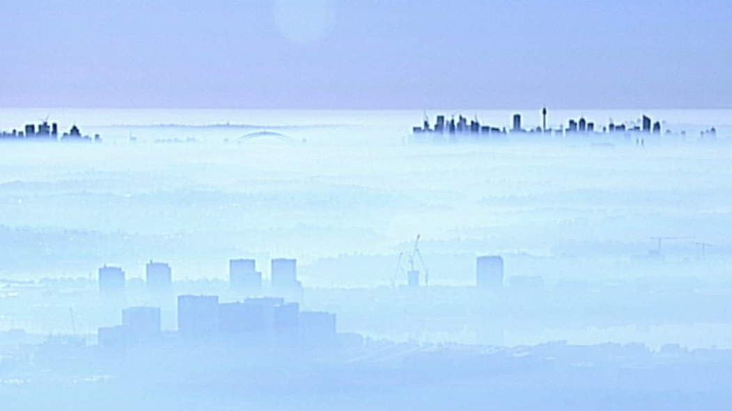 Sydney smoke haze