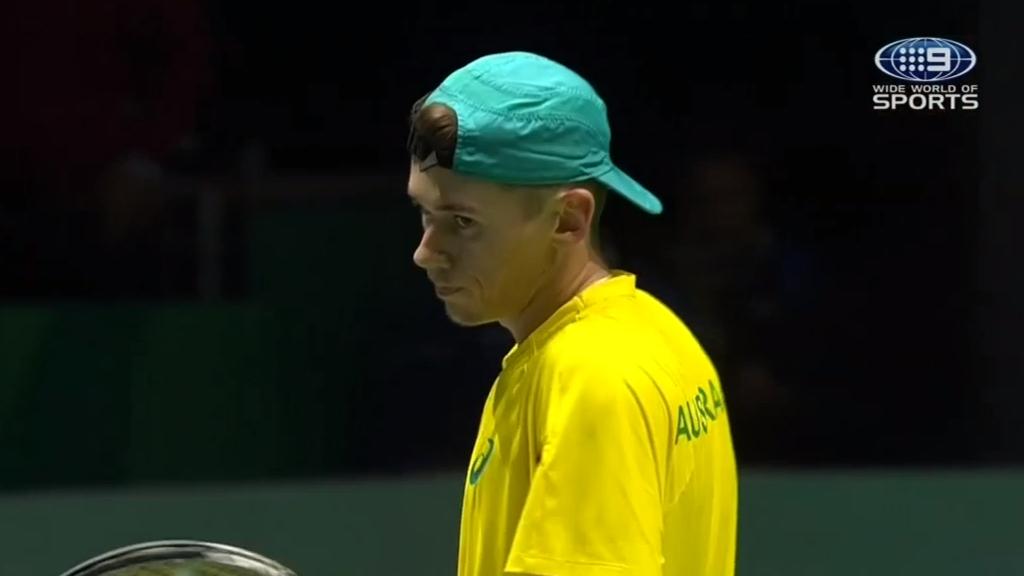 De Minaur seals Davis Cup opener