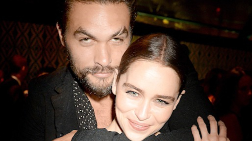 Emilia Clarke recalls Jason Momoa's 'kindness' during Game of Thrones nude scenes
