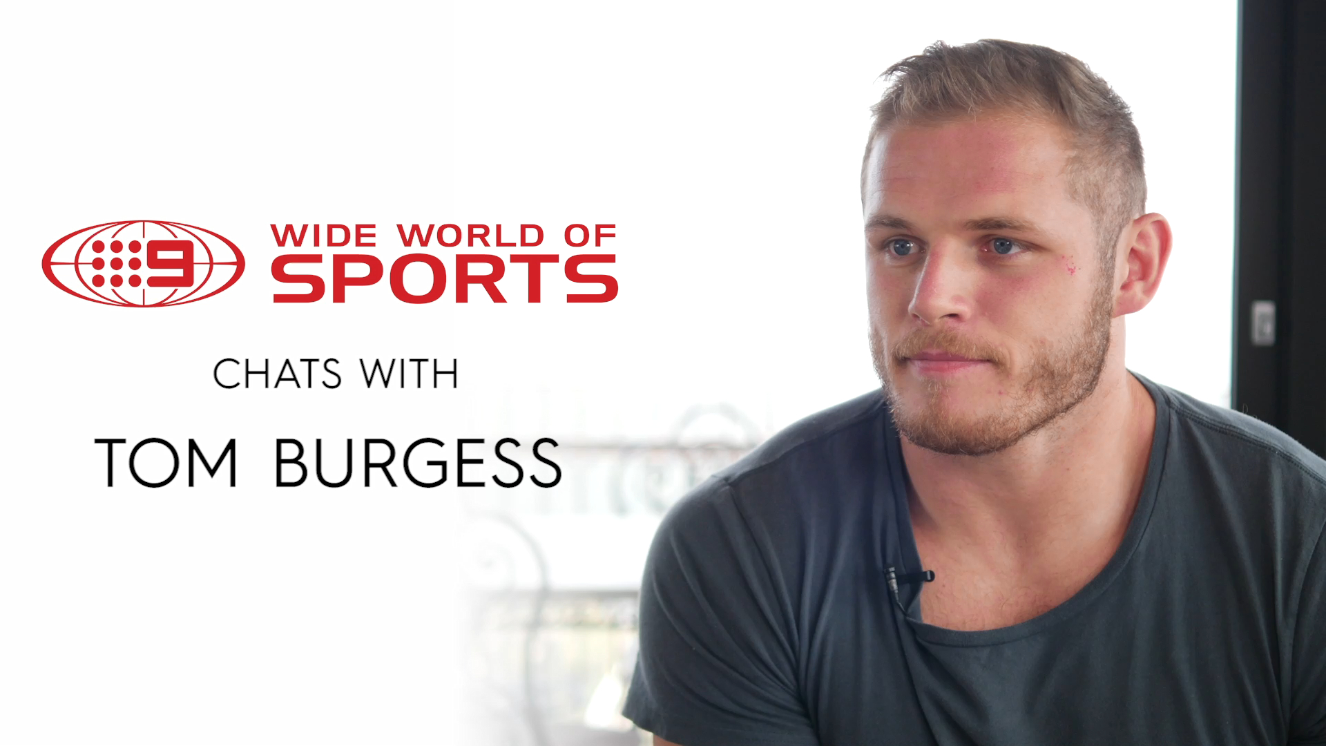 Burgess exclusively speaks to WWOS