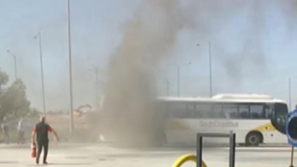 Melbourne school bus fire
