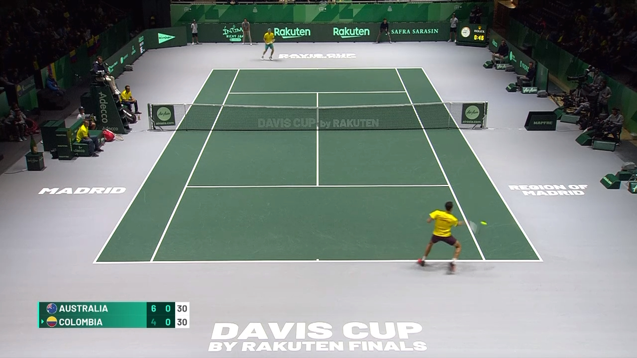 Davis Cup Highlights: De Minaur v Elahi Galan - Group Stage