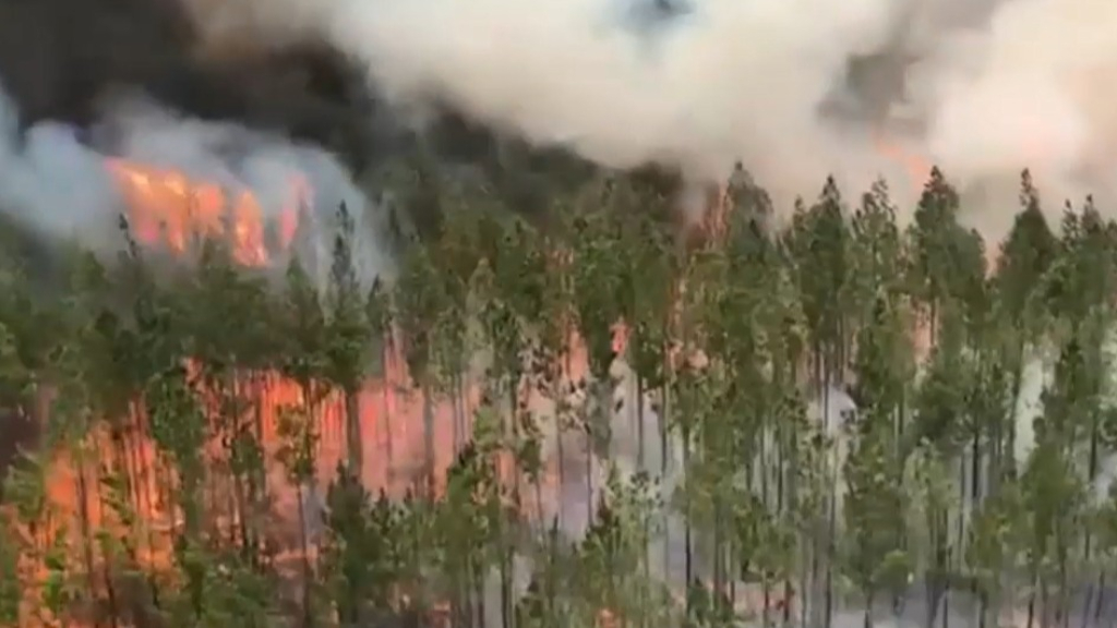 Two fires upgraded across NSW