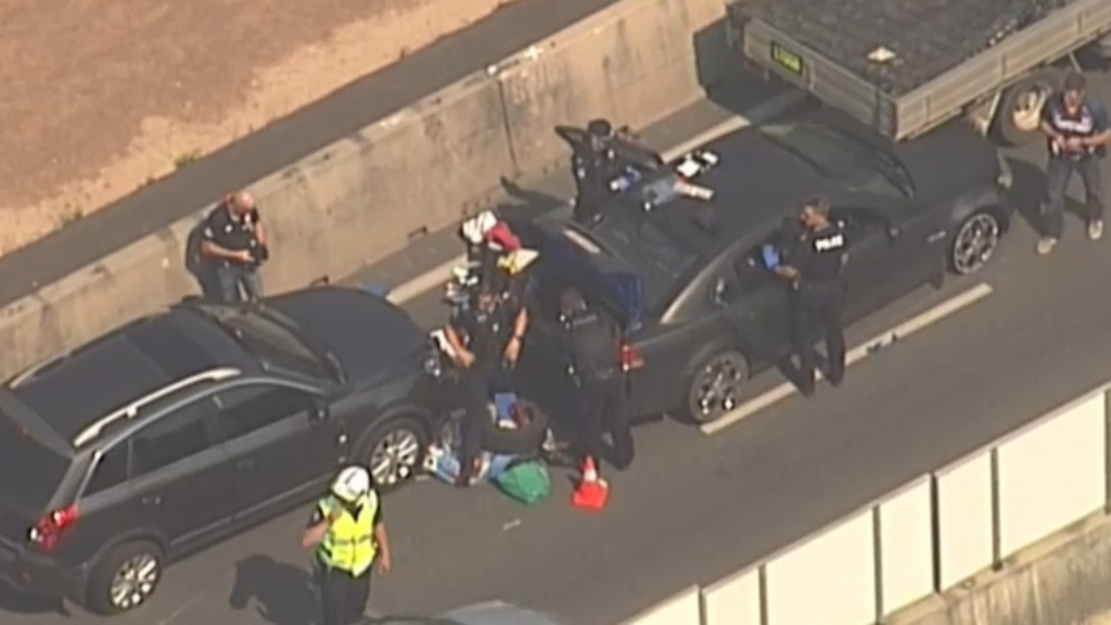 Police chase ends in Bruce Highway crash