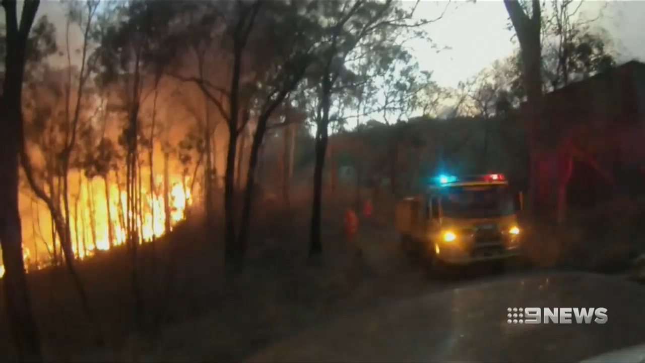 Queensland fire fuelled by extreme conditions