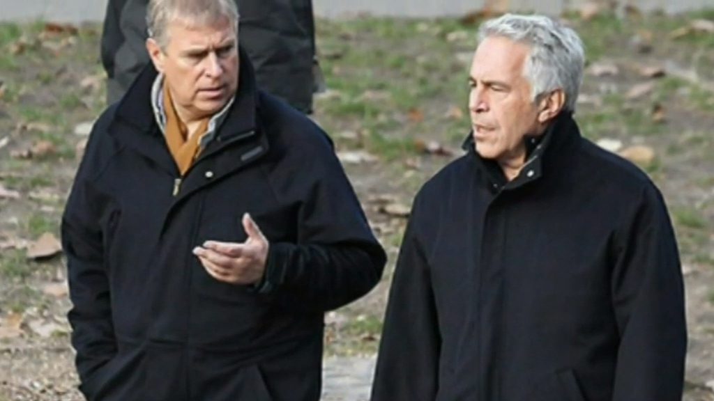 Prince Andrew steps down