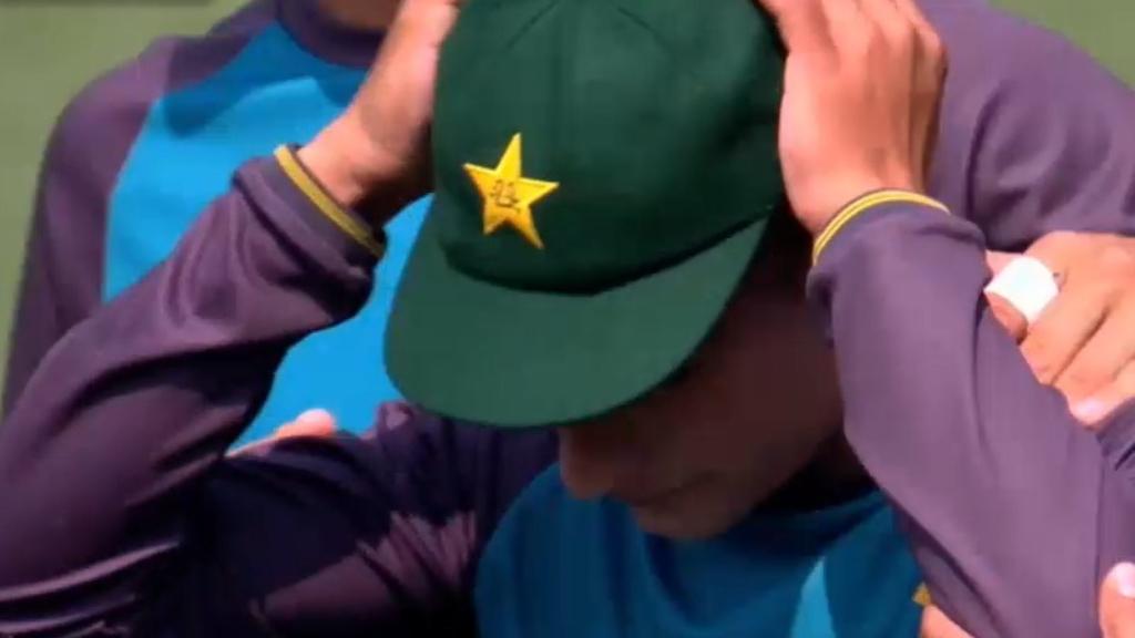 Australia vs Pakistan First Test: Naseem Shah cries after receiving first Test cap