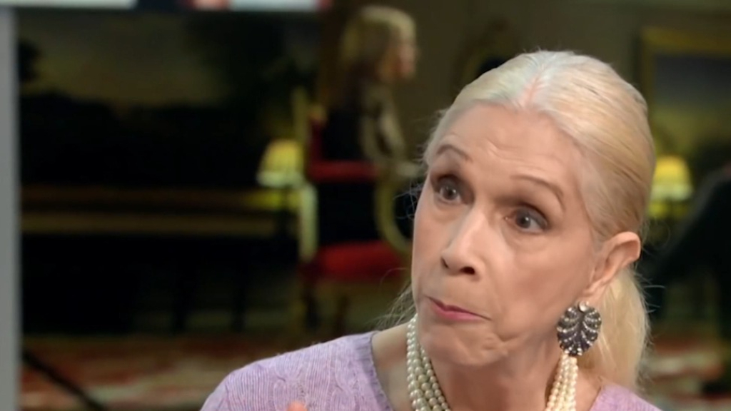 British socialite Lady Colin Campbell under fire for Epstein comments