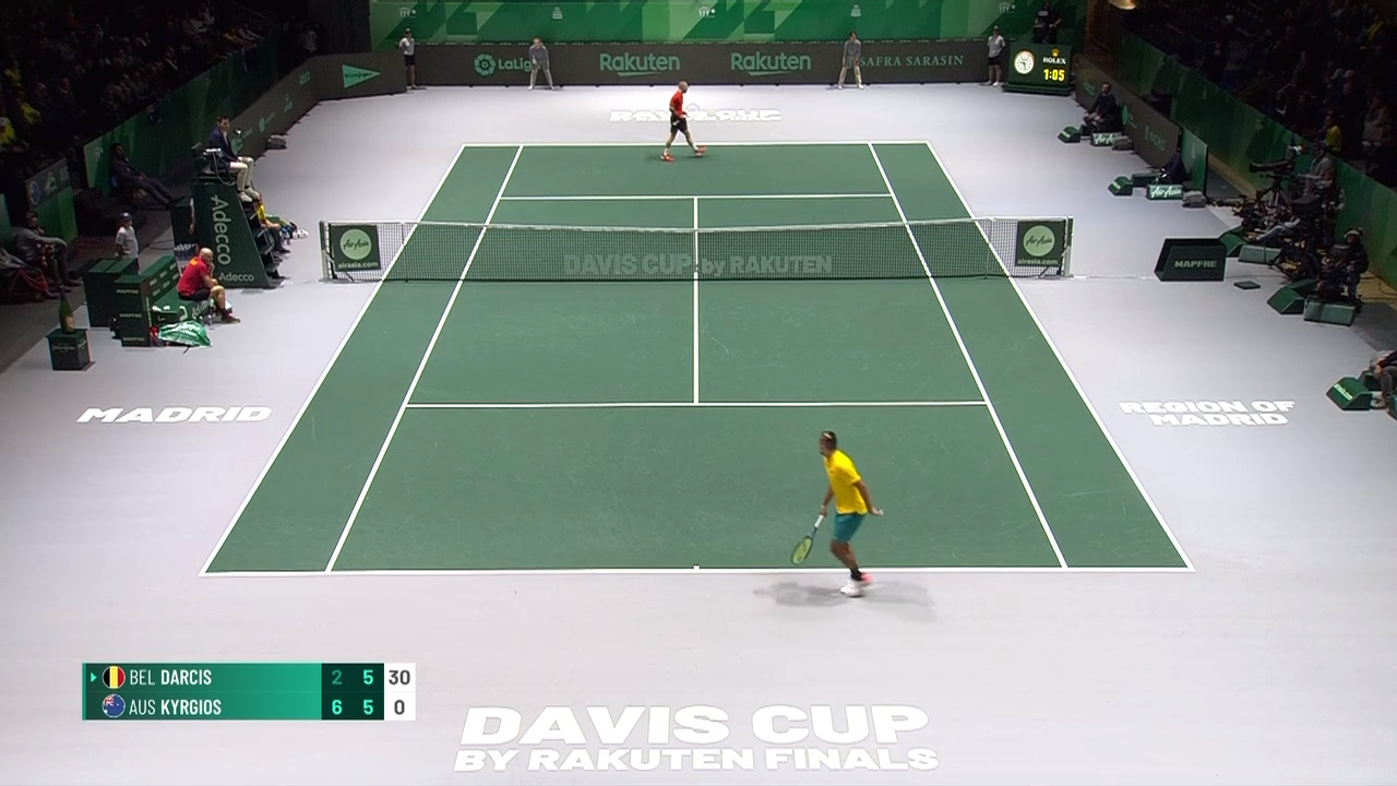 Davis Cup Highlights: Kyrgios v  - Group Stage