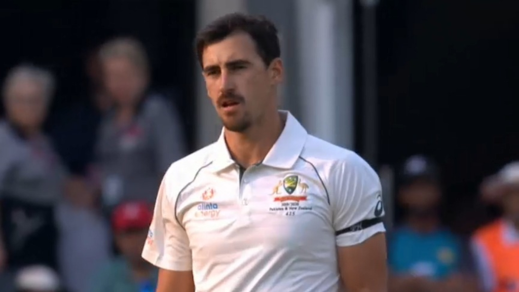Mitchell Starc's double-strike