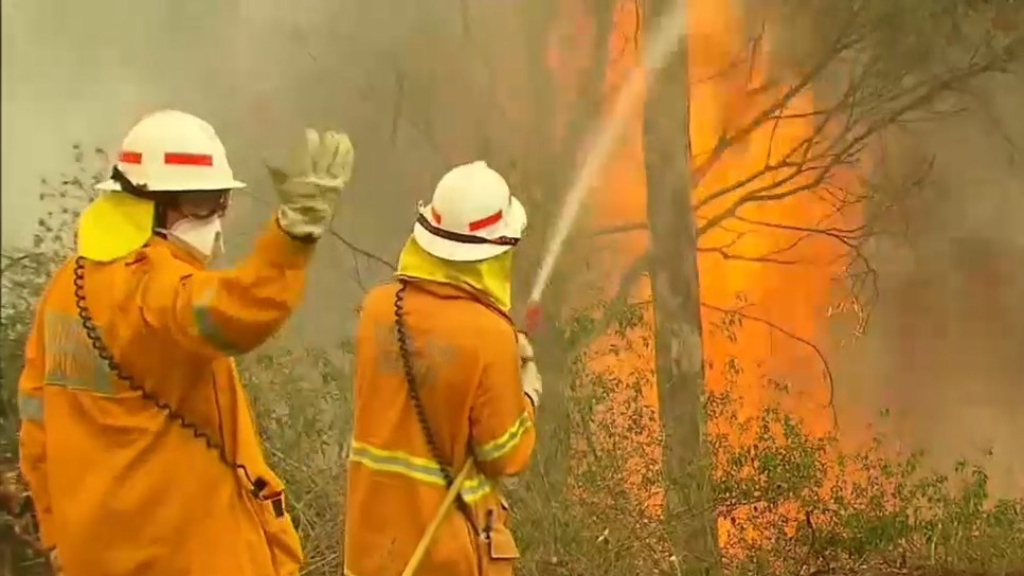 Bushfires ease across Queensland