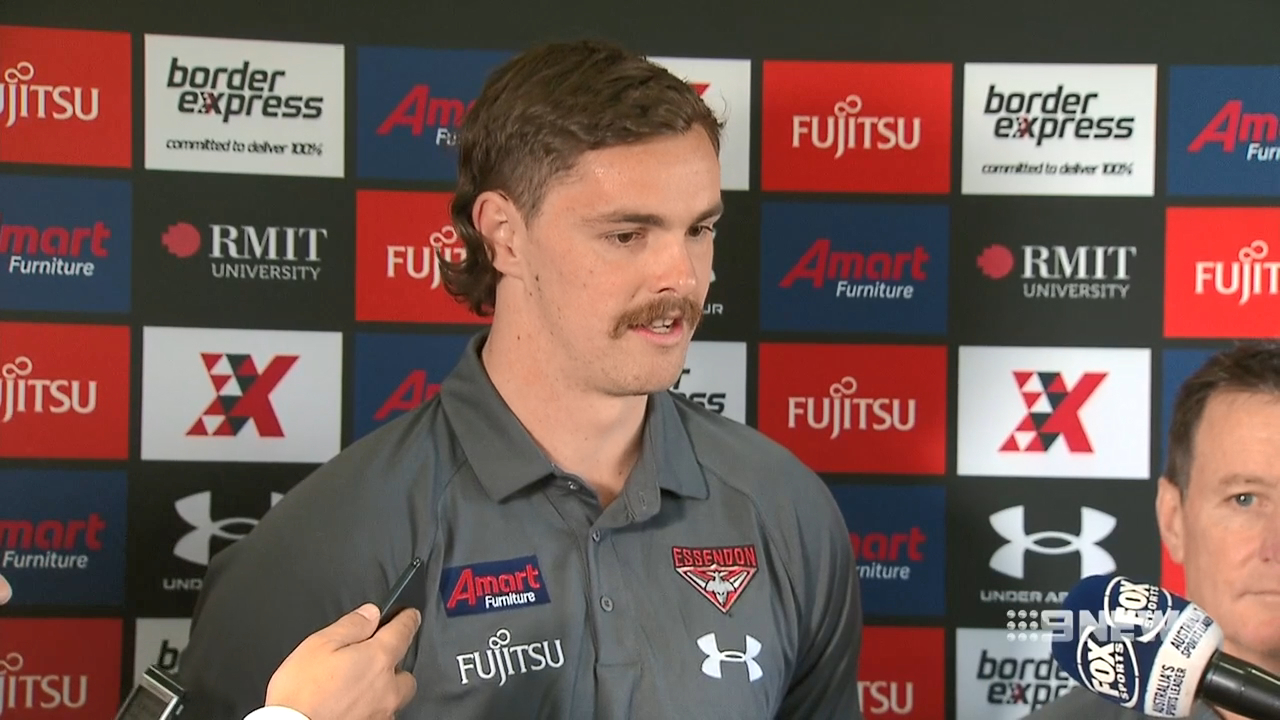 Daniher breaks silence on trade demand
