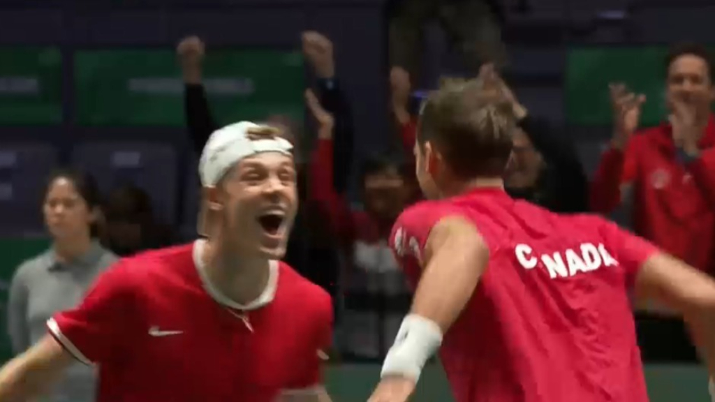 Canada beat Australia in doubles Davis Cup decider