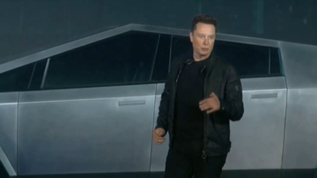 Tesla unveils high-tech truck