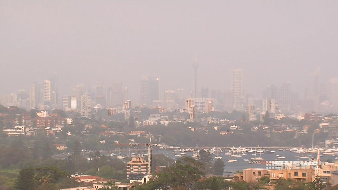 Sydney once again enveloped in smoke haze