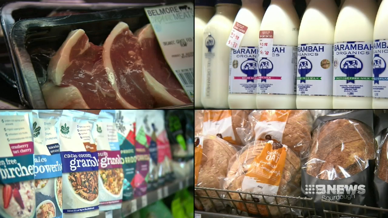 Australia's drought pushing up grocery prices