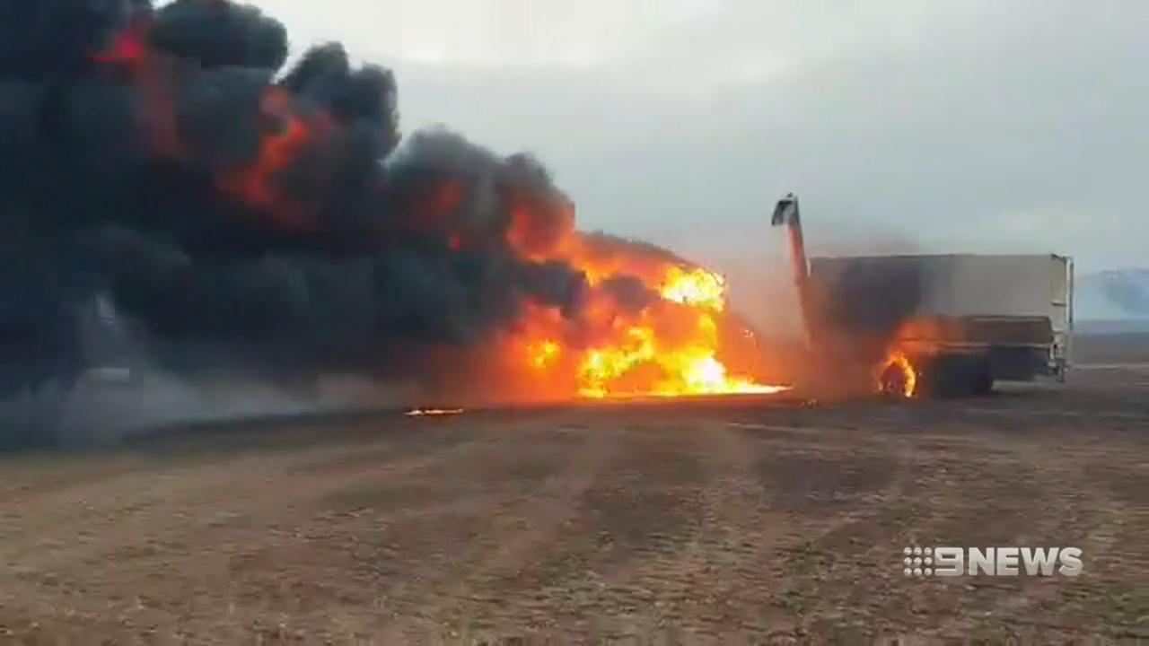South Australia's Premier tours fire-ravaged areas
