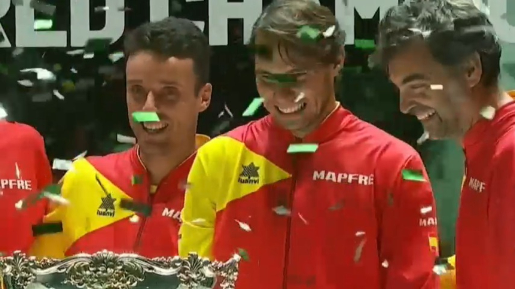 Spain win 2019 Davis Cup