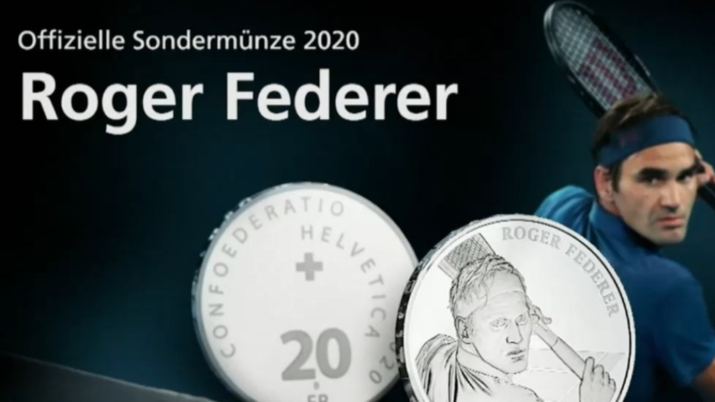 Federer to feature on Swiss coin