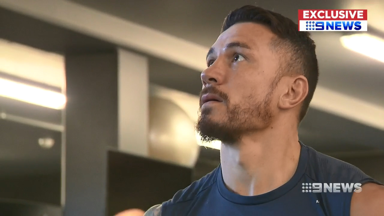 SBW's gruelling workout regime